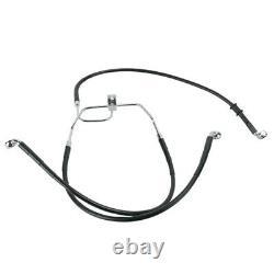 1 1/4 BBlack 14 Prewired Ape Hanger PKit 2008-2011 Harley Dyna Fat Bob