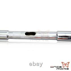 1-1/4 Chrome APE Hangers Bars Fat 16 Rise Handlebar Fit Harley HD FLST FXST