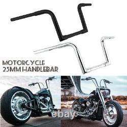 1 1/4 FAT 10 Rise Ape Hanger Handlebar 1'' Drag Bar For Harley Sportster FLST