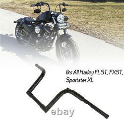 1 1/4 FAT Handlebar 10 Rise Frisco Ape Hanger Bar For Harley Sportster XL FLST