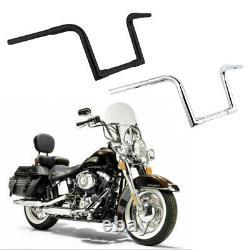 1 1/4 FAT Handlebar 10Rise Ape Hanger 1''Drag Bar For Harley Sportster XL FLST