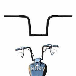 1 1/4 Fat 12 Rise Ape Hanger Handlebar Fit For Harley FLST Sportster XL