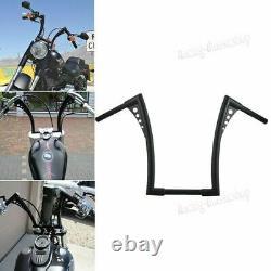 1-1/4 Fat 12 Rise Ape Hangers Handlebars FOR Harley Sportster XL Dyna Softail
