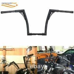 1-1/4 Fat 14 Rise Ape Hangers Handlebar For FLST, FXST, Sportster XL NEW