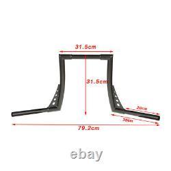 1-1/4 Fat 14 Rise Ape Hangers Handlebar For Harley Sportster XL 883 1200 FXST