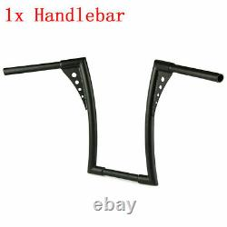 1.25 Handlebars Fat 12 Rise Ape Hangers Handle bar For Harley Softail XL FXST