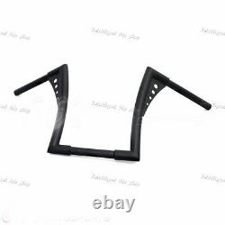 1 Motorcycle APE Hangers Bars Fat 1-1/4 12 Rise Handlebar For Harley 883 XL