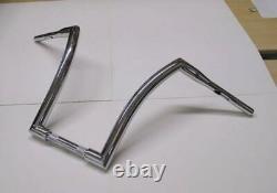 12 Ape Hangers Chrome Dna 1-1/2 Fat Monster Handlebar Harley Softail Sportster