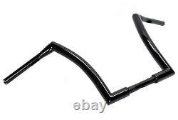 14 Black Fat Monster Ape Hangers Apes Handlebars Harley Softail Dyna Sportster