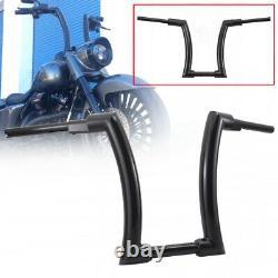16''Ape Hanger Fat Bars 1-1/4Handlebar black For Sportster 1200 Roadster XL1200