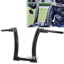 16 Ape Hanger Fat Bars Handlebars 2For Harley Touring Sportster Softail Dyna