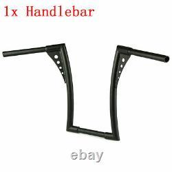1pcs 1.25 Fat 12 Rise Ape Hangers Handlebar For Harley Softail Street Bob FXBB