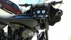 APE HANGER HANDLEBAR 10 BLACK 4 Harley TOURING SOFTAIL SPORTSTER KING FAT