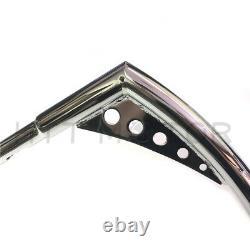 Ape Hangers Bars Fat 1-1/4 12 Rise Handlebars For Harley Softail Sportster XL