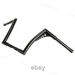 Attractive 1''Fat 12 Rise Ape Hangers Handlebar For Harley Softail Sportster XL