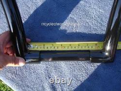 Black 12 DNA MONSTER APE HANGER FAT BARS 1-1/2 HARLEY HANDLEBARS Sportster 1200