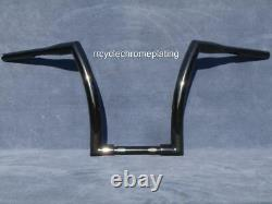 Black 14 DNA FAT MONSTER APE HANGER BAR 1-1/2 HARLEY HANDLEBAR Dyna Super Glide