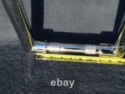 CHROME 14 DNA FAT MONSTER APE HANGER BARS 1-1/2 HARLEY HANDLEBARS Dyna FXD FXDL