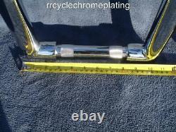 CHROME 18 Inch DNA MONSTER APE HANGER BARS FAT 1-1/2 HARLEY HANDLEBARS Dyna