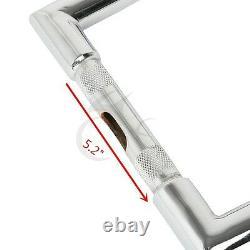 Chrome 16 Rise Ape Hanger Bar Fat Handlebar For Harley Sportster XL 883 1200 US