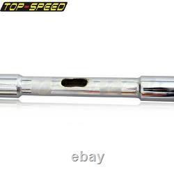 Chrome Ape Hangers Bars Fat 1-1/4 16 In Rise Handlebars For Harley Sportster XL