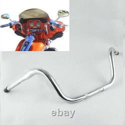 Chrome Fat 1-1/4 10 Ape Hanger Frisco HandleBar For Harley Sportster XL