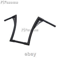 Custom 16 Rise Ape Hangers Bars Fat 1-1/4 Handlebars For Harley Sportster XL