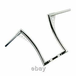Custom Ape Hangers Fat 1-1/4 Bars 16 Rise Handlebar For Harley Sportster Dyna