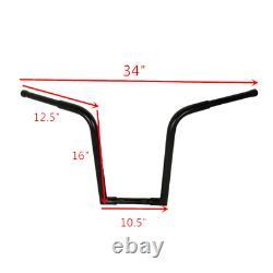 Fat 1-1/4 16 Rise Ape Hanger Bar Handlebar Fit For Harley Sportster Drag Bar