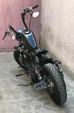For Harley 1340 Dyna Glide Custom 98-13 1.25 Fat 12 Rise Ape Hangers Handlebar
