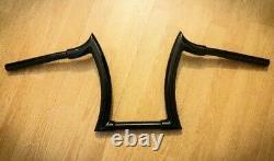 Guidon Ape Hanger Fat-chizeled 32/25mm (1) Harley-Davidson