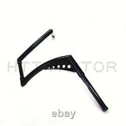 HTTMT 1.25 Fat 12 Rise Ape Hangers Handlebar For Harley Sportster XL 1200 883