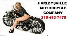 Khrome Werks Black 10 inch Fat Bobber Ape Hangers 1 1/4 in Handlebars 300875 USA