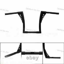 Motor APE Hangers Bars Fat 1-1/4 12 Rise Handlebar For Harley FLST FXST XL