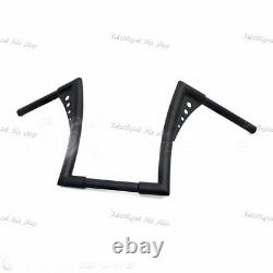 Motorcycle APE Hangers Bars Fat 1-1/4 12 Rise Handlebar For Harley XL FB