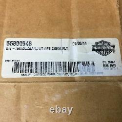 NOS Genuine Harley Handlebars Road Glide FLTR Chrome Fat Ape Hangers 16 55800548