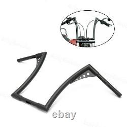 Re-usable 1''Fat 16 Rise Ape Hangers Handlebar For Harley Softail Sportster XL